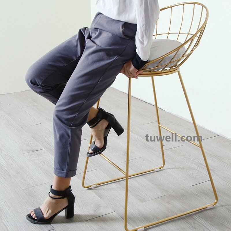 Tuwell-Tw8616-l Steel Wire bar Chair-11