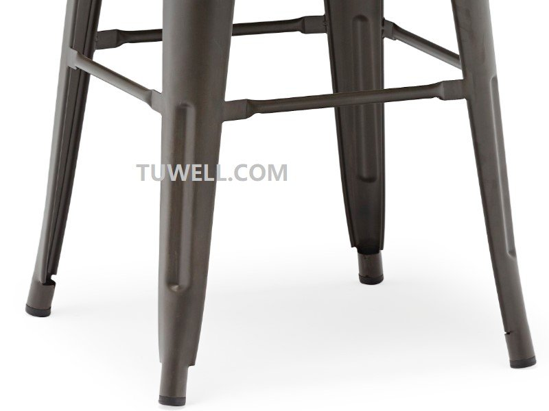 Tuwell-High Quality Tw8004 Steel Tolix Barchair | Tolix Chair-11