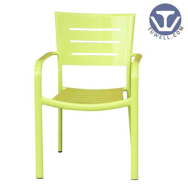 TW8103 Aluminum chair with arms