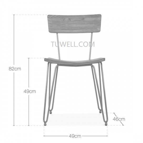 Tuwell-High Quality Tw6108 Steel Chair Factory-4