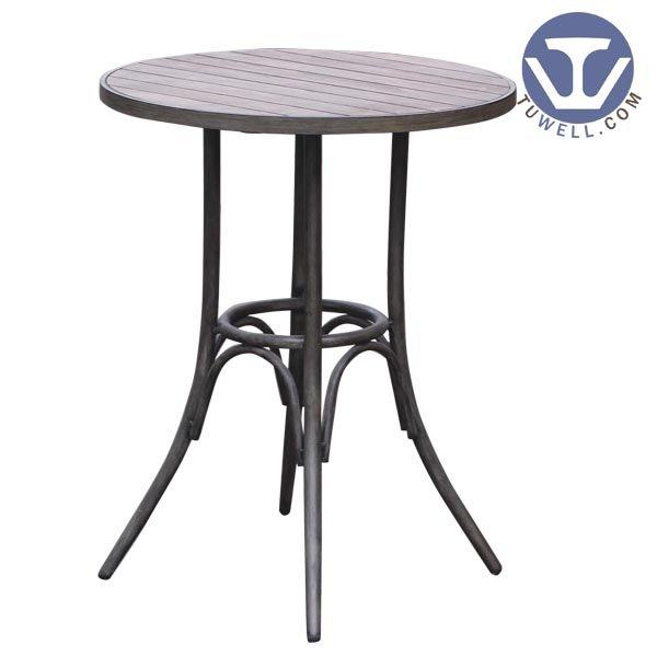 TW7029 Aluminum bar table, cafe bar table