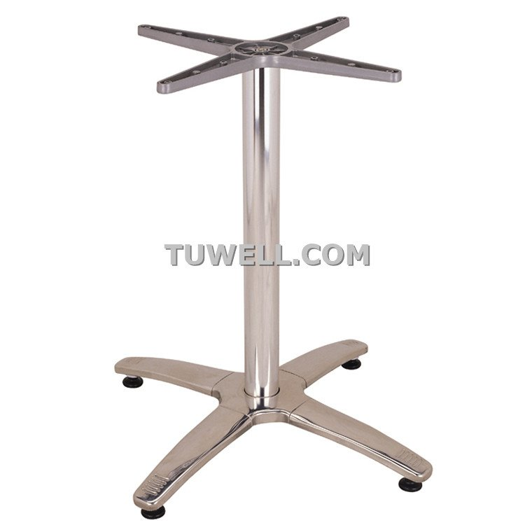 Tuwell-Find Tw7008 Stainless Steel Table Base | Cast Iron Bar Table Base-3