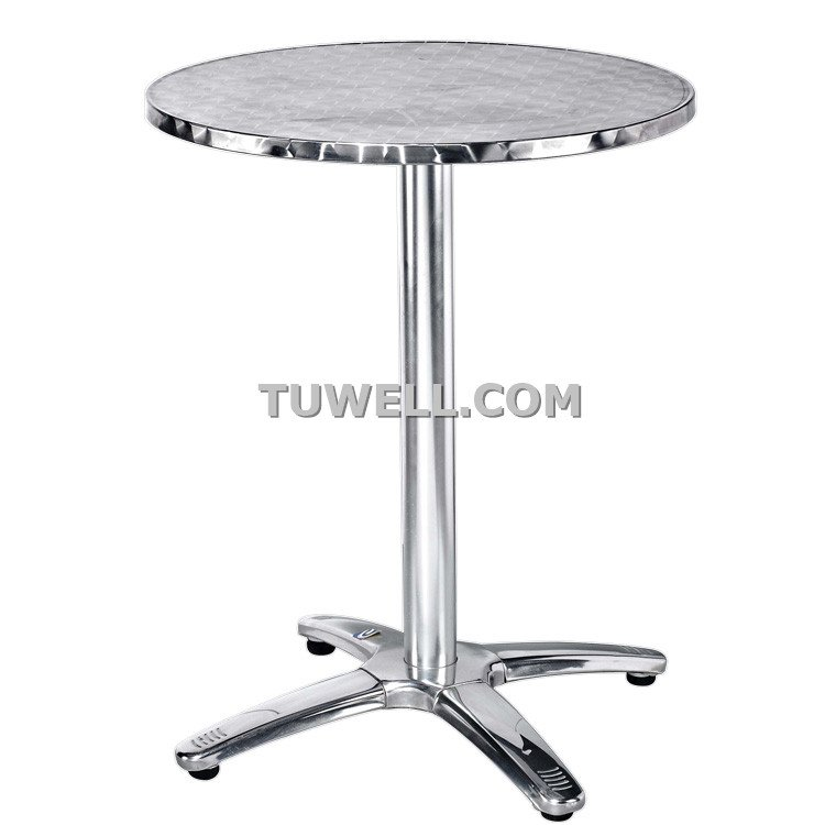 Tuwell-Find Tw7008 Stainless Steel Table Base | Cast Iron Bar Table Base-6