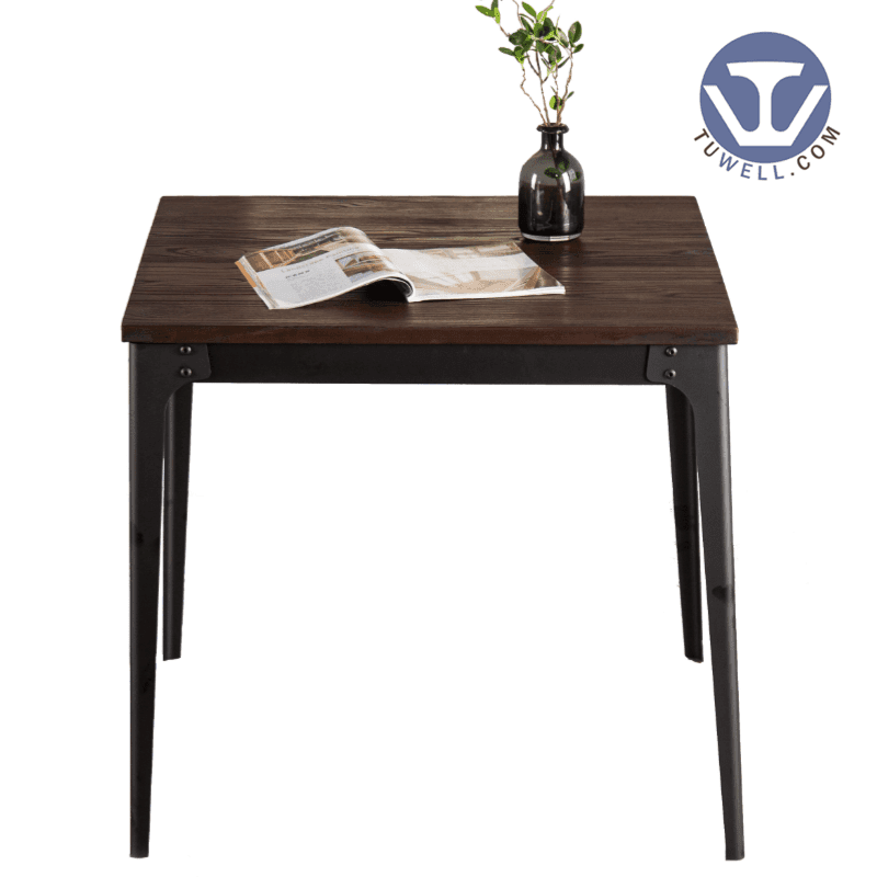 TW7041  Wood dining table cafe table