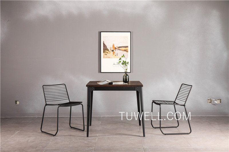 Tuwell-Tw7041 Wood Dining Table   Bar Height Dining Table   Dining Table-4