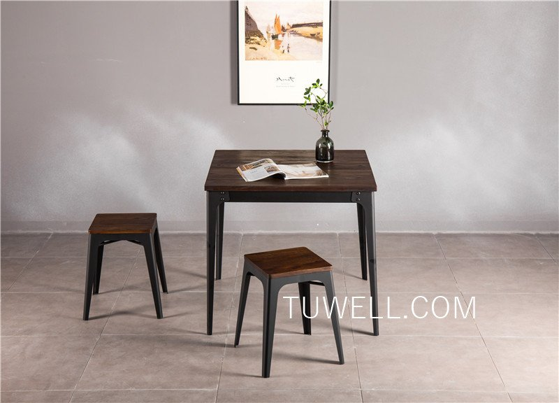 Tuwell-Tw7041 Wood Dining Table   Bar Height Dining Table   Dining Table-5