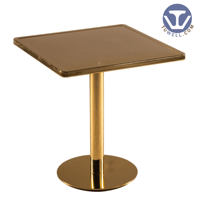 TW7034  Metal dining table cafe table