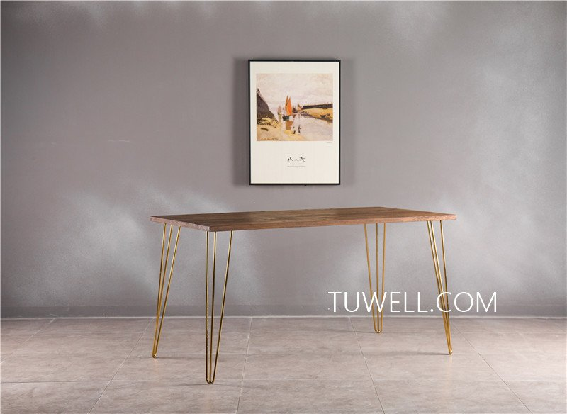 Tuwell-Professional Bar Height Dining Table Tw7037 Wood Dining Table Manufacture-4