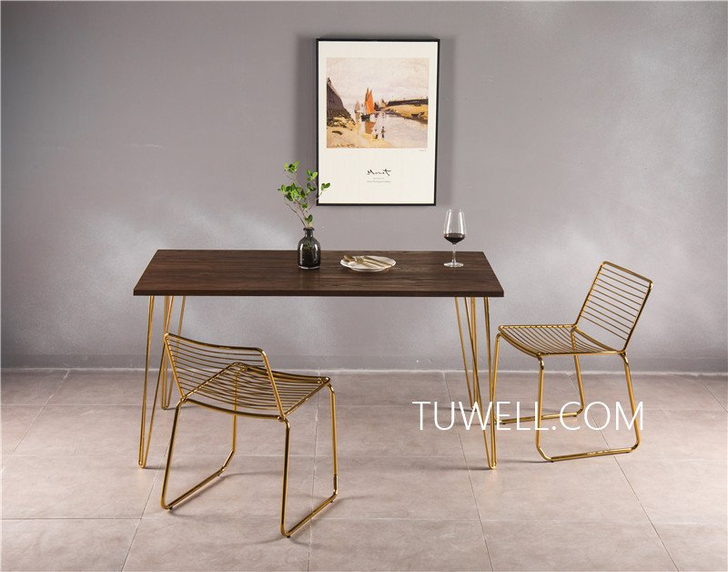 Tuwell-Professional Bar Height Dining Table Tw7037 Wood Dining Table Manufacture-6