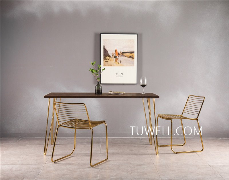 Tuwell-Professional Bar Height Dining Table Tw7037 Wood Dining Table Manufacture-7
