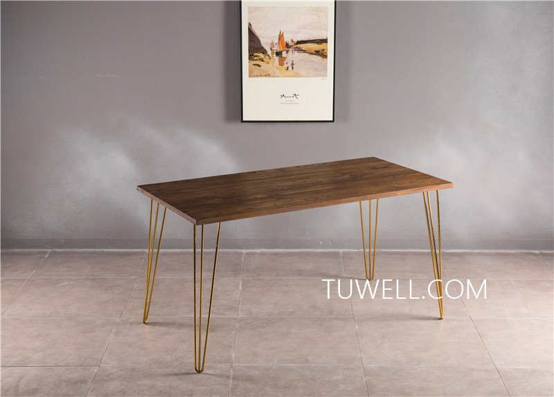 Tuwell-Professional Bar Height Dining Table Tw7037 Wood Dining Table Manufacture-5