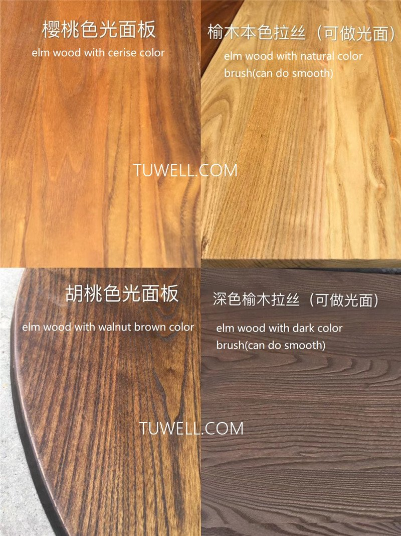 Tuwell-Best Tw7039 Wood Dining Table Manufacture-6