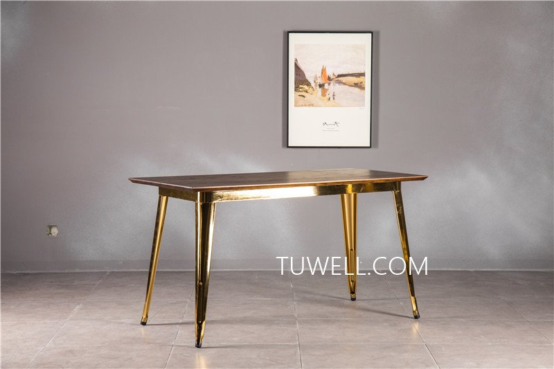 Tuwell-Best Tw7039 Wood Dining Table Manufacture-4
