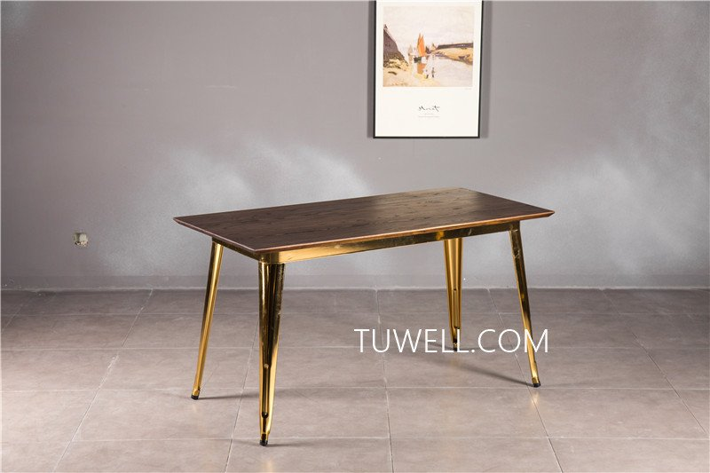 Tuwell-Best Tw7039 Wood Dining Table Manufacture-5