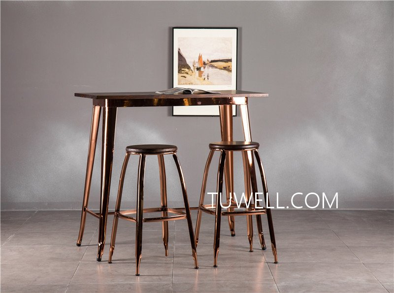 Tuwell-Find Tw7039-l Wood Dining Bar Table | Bar Height Dining Table-19
