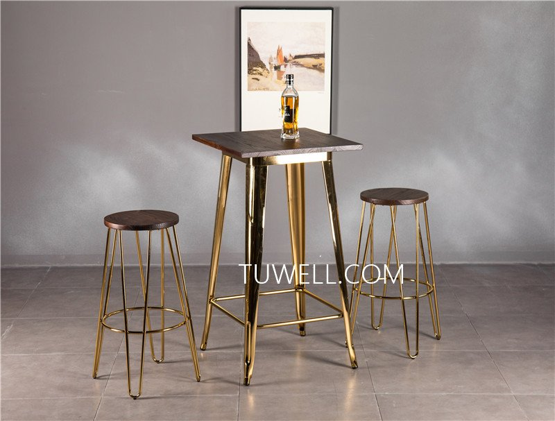 Tuwell-Professional Tw8008-lW Steel Bar Table Supplier-17
