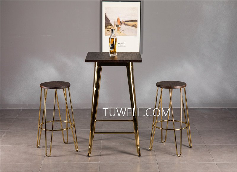 Tuwell-Professional Tw8008-lW Steel Bar Table Supplier-16