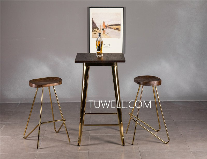 Tuwell-Professional Tw8008-lW Steel Bar Table Supplier-15