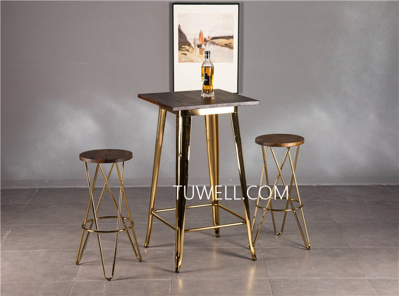 Tuwell-Professional Tw8008-lW Steel Bar Table Supplier-18