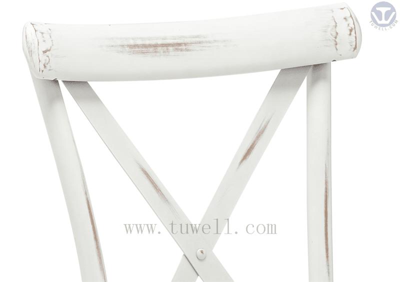 Tuwell-Tw8080-b Aluminum Cross Back Chair-14