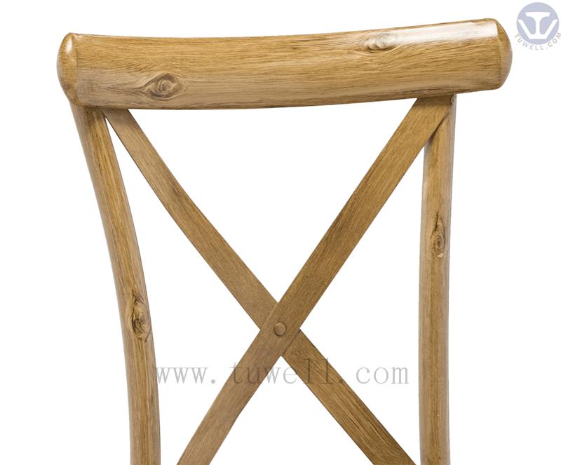 Tuwell-Tw8080-b Aluminum Cross Back Chair-18