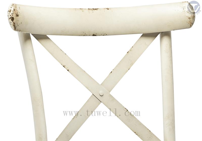 Tuwell-Tw8080-b Aluminum Cross Back Chair-20