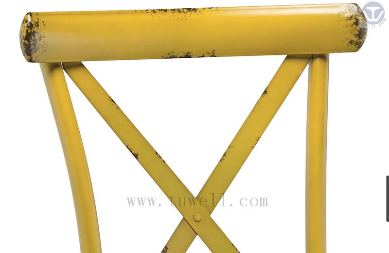 Tuwell-Tw8080-b Aluminum Cross Back Chair-24