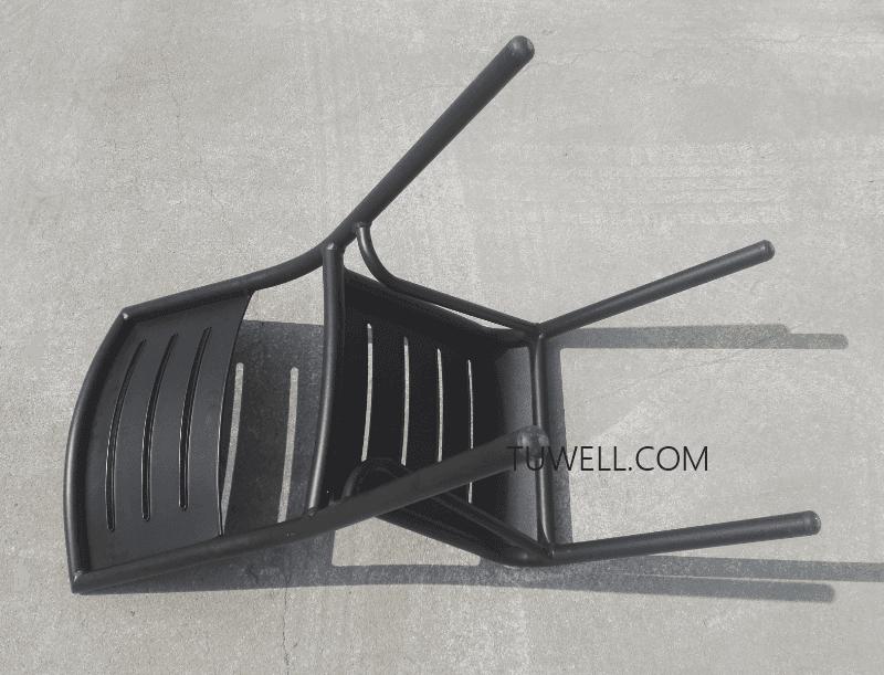 Hot bar aluminum bar stools side Tuwell Brand