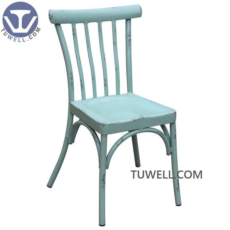 TW8724 Aluminum dining chair restaurant chair