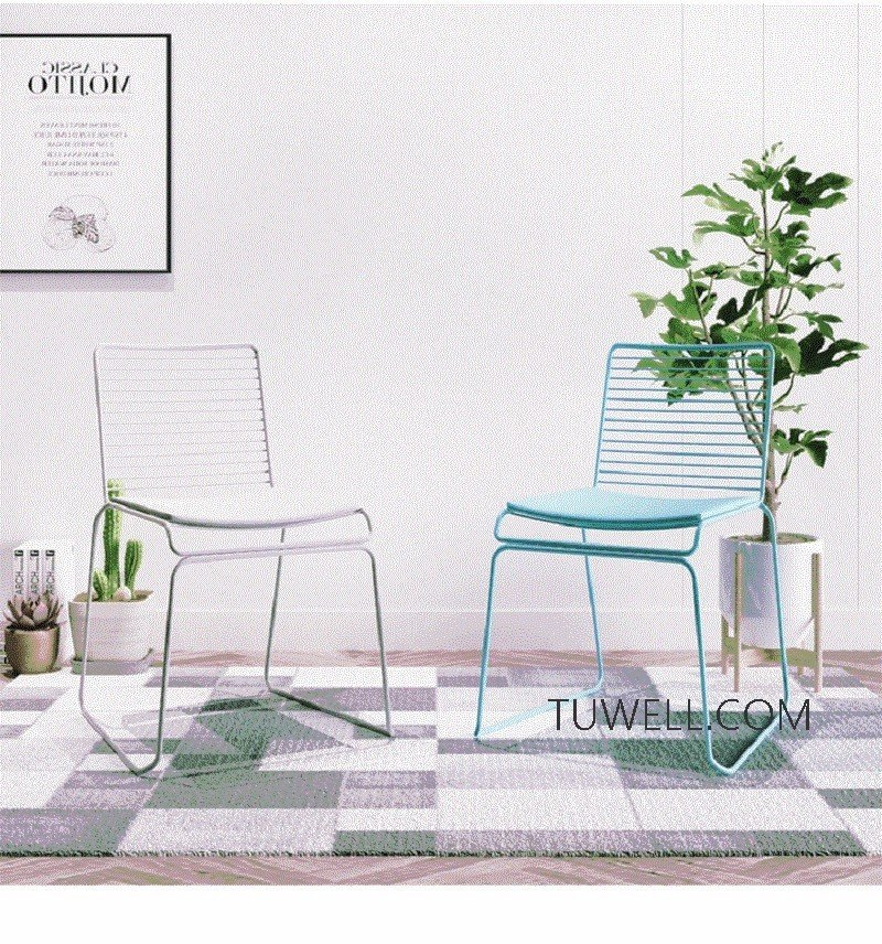 Tuwell-Best Tw8606 Steel Wire Chair Manufacture-18