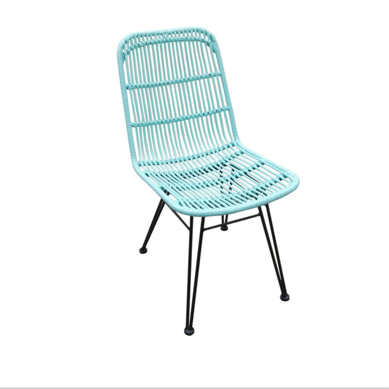 TW8714  metal rattan chair European leisure style indoor and outdoor