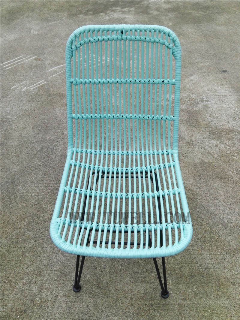 Tuwell-Find TW8714 Steel Rattan Chair-7