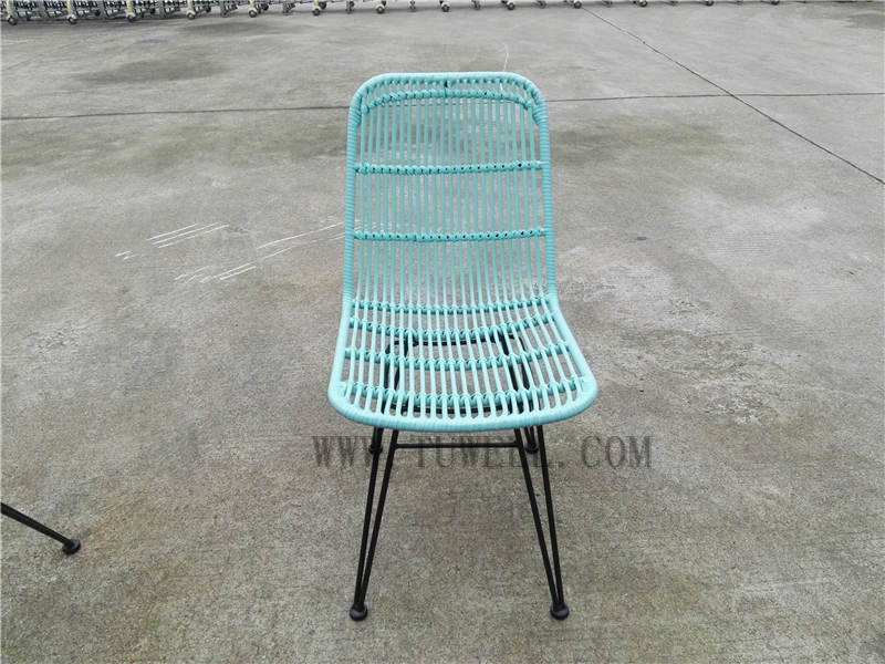 Tuwell-Find TW8714 Steel Rattan Chair-5