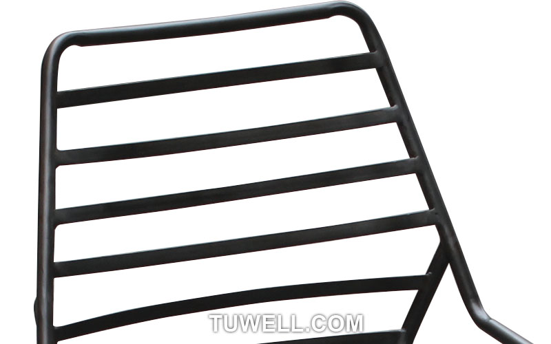 Tuwell-Find Tw9001-l Metal Barstool, Steel Barchair For Dining | Manufacture-6