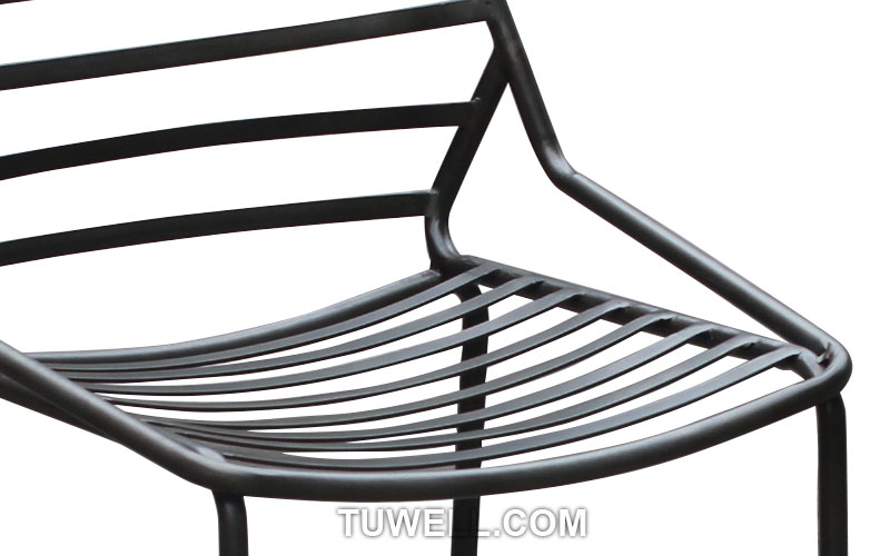 Tuwell-Find Tw9001-l Metal Barstool, Steel Barchair For Dining | Manufacture-7