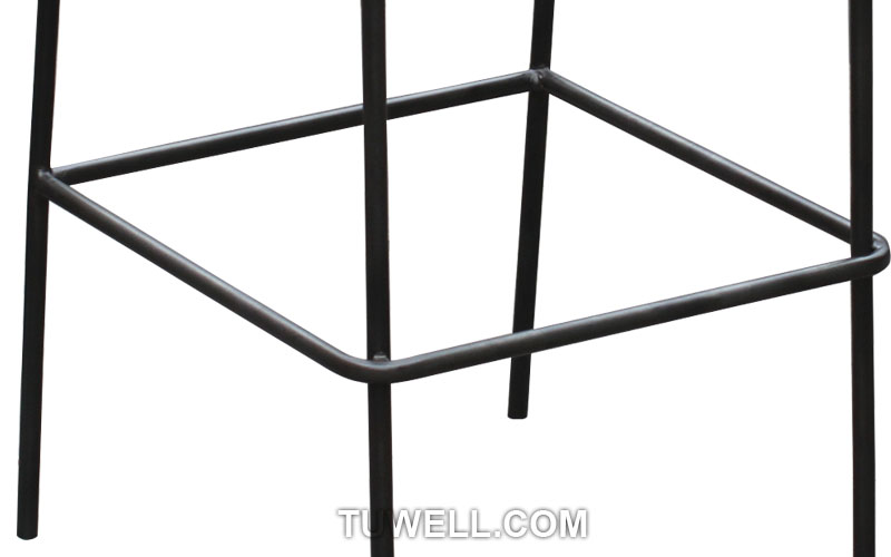 Tuwell-Find Tw9001-l Metal Barstool, Steel Barchair For Dining | Manufacture-8