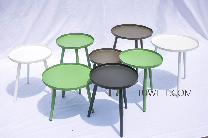 Tuwell-Best Tw8747 Metal Coffee Table Tea Table Manufacture-15