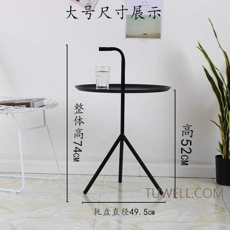 Tuwell-Professional Tw8745 Metal Coffee Table Cafe Table Tea Table Supplier-5