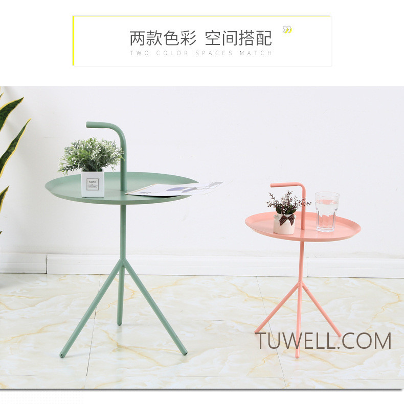 Tuwell-Professional Tw8745 Metal Coffee Table Cafe Table Tea Table Supplier-4