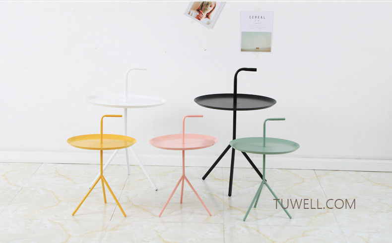 Tuwell-Professional Tw8745 Metal Coffee Table Cafe Table Tea Table Supplier-9