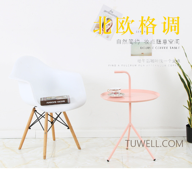 Tuwell-Professional Tw8745 Metal Coffee Table Cafe Table Tea Table Supplier-8