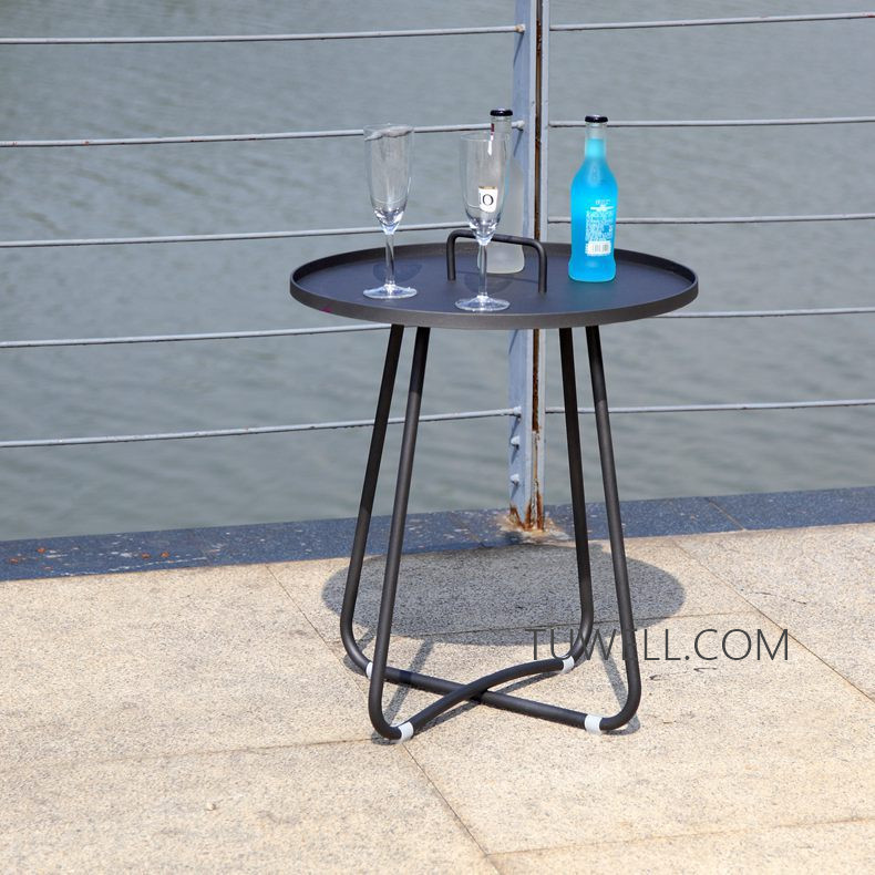 Tuwell-Professional Tw8746 Metal Coffee Table Cafe Table Tea Table Supplier-5