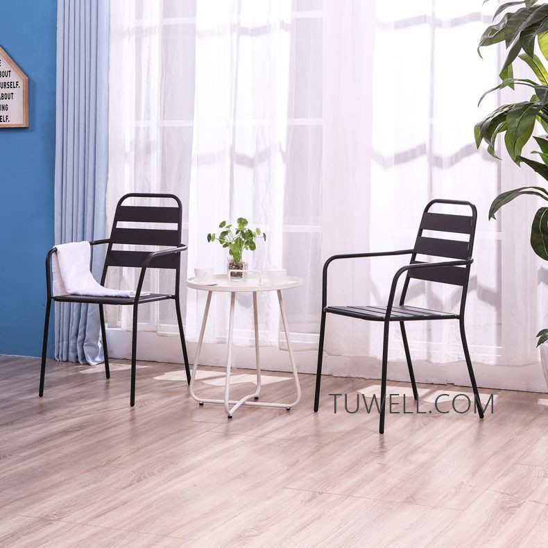 Tuwell-Professional Tw8746 Metal Coffee Table Cafe Table Tea Table Supplier-8