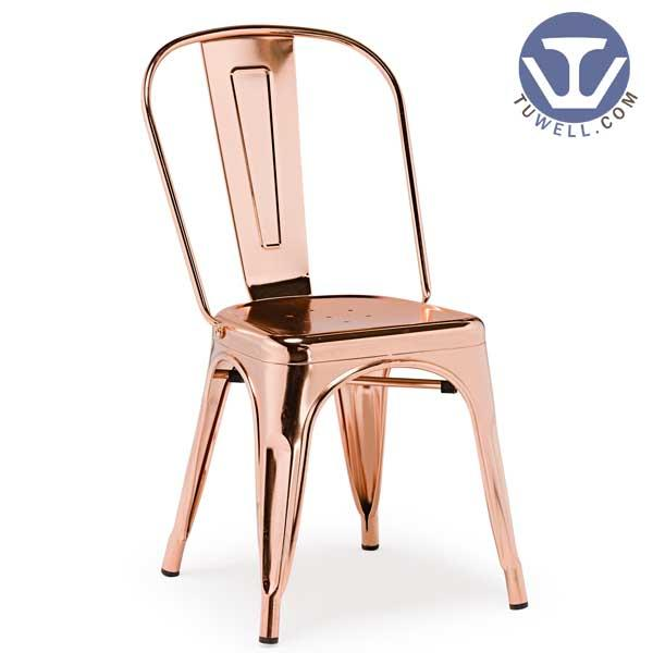 TW8001 Steel Tolix chair metal dining chair