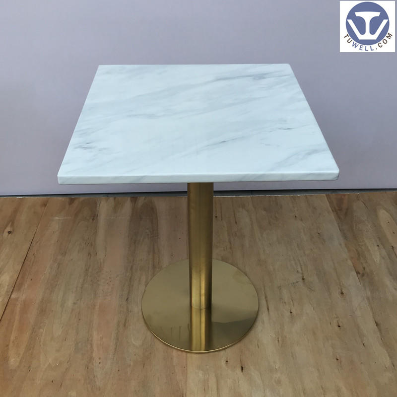 TW7044 Artificial quartz stone table, coffee table, restaurant table