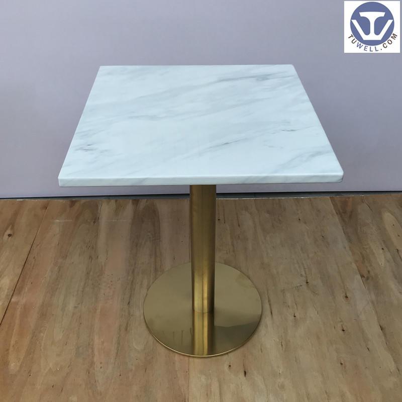 TW7044 Artificial quartz stone table, coffee table, restaurant table