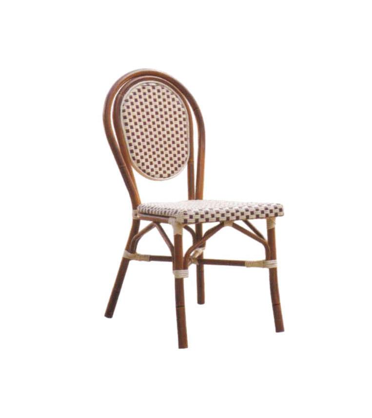 TW3015  aluminum rattan chair