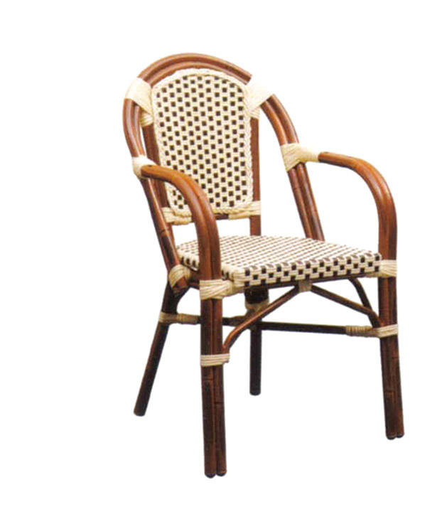 TW3013  aluminum rattan chair