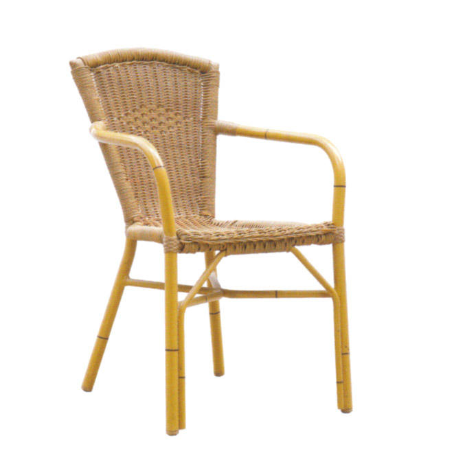 TW3018  aluminum rattan chair