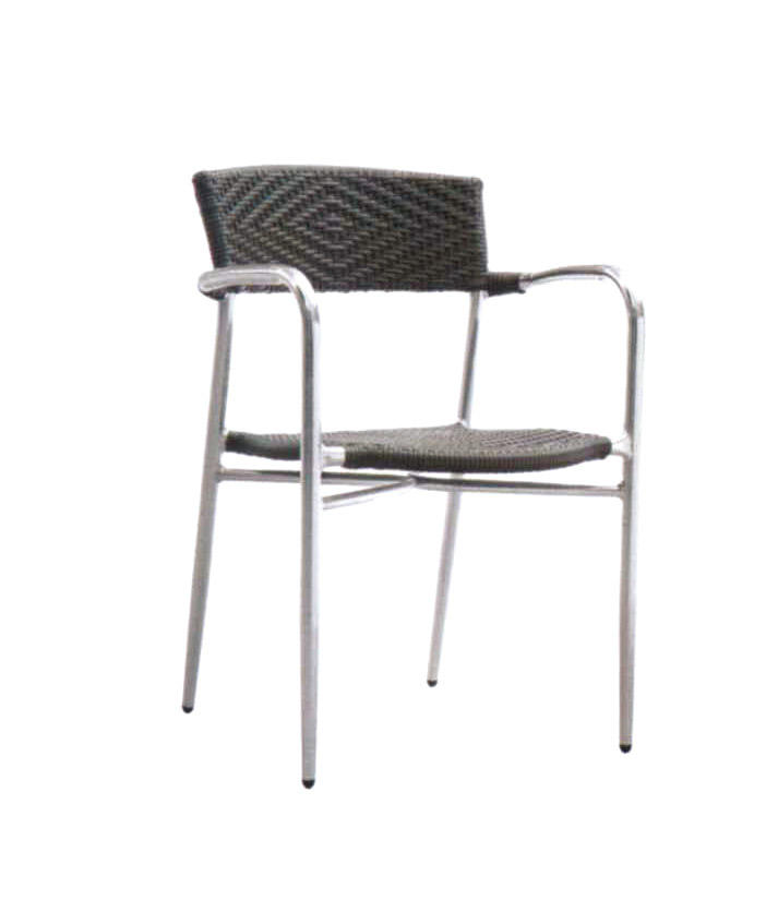 TW3024  aluminum rattan chair